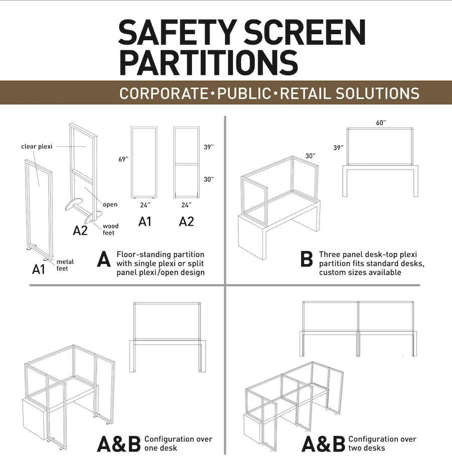 Safety screen partitions wkxonline